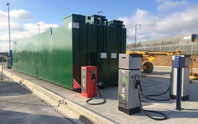 80,000 litre bunded fuel tank