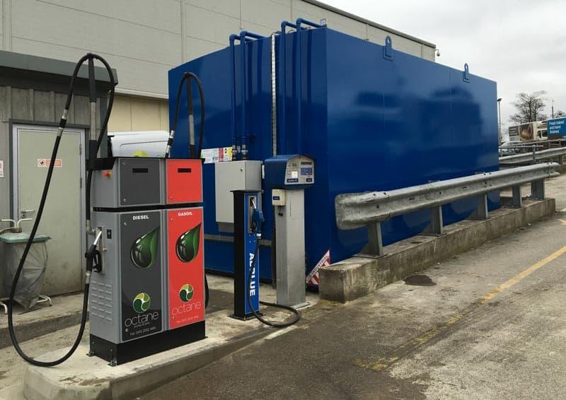 new diesel gas oil bunded tank