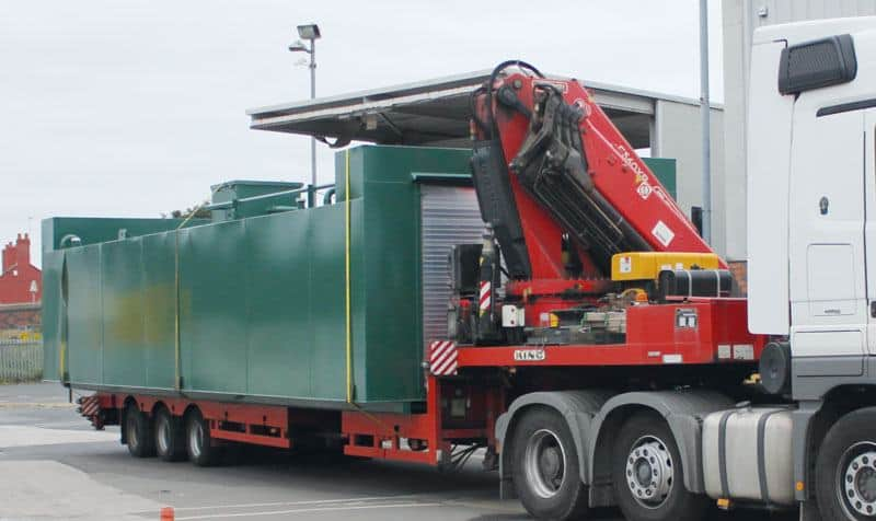 bunded tank hire