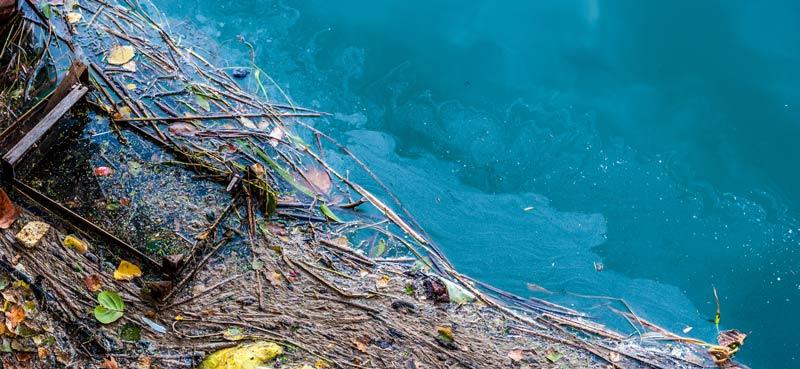 fuel leak river pollution