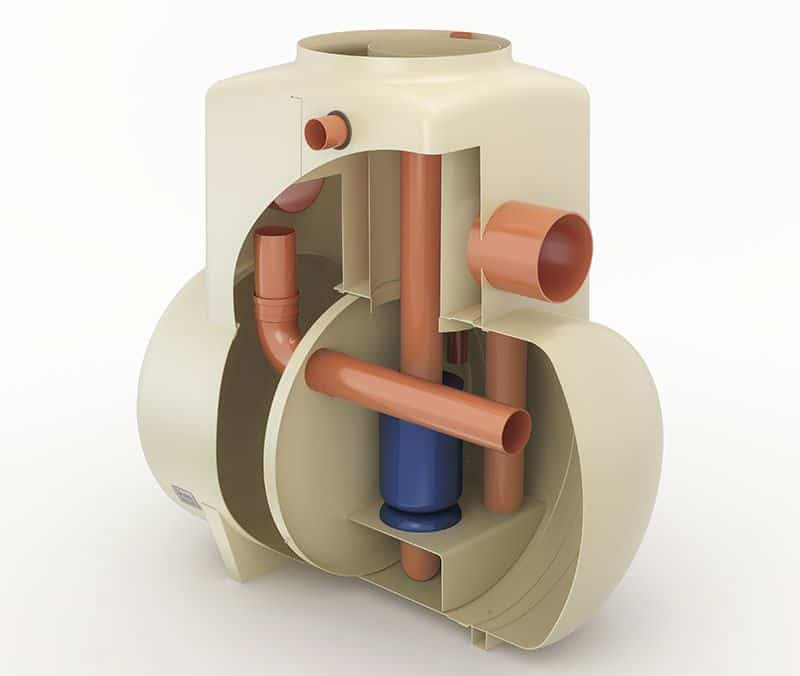 bypass separator cutaway