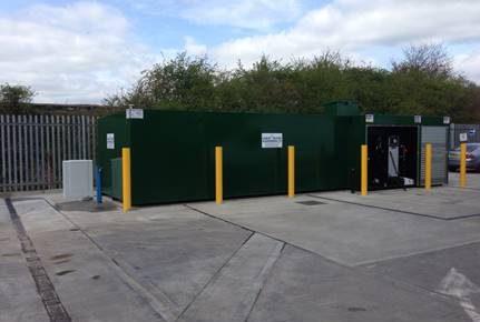 Refuelling System Updated, Demolition & Concrete Yard Repairs