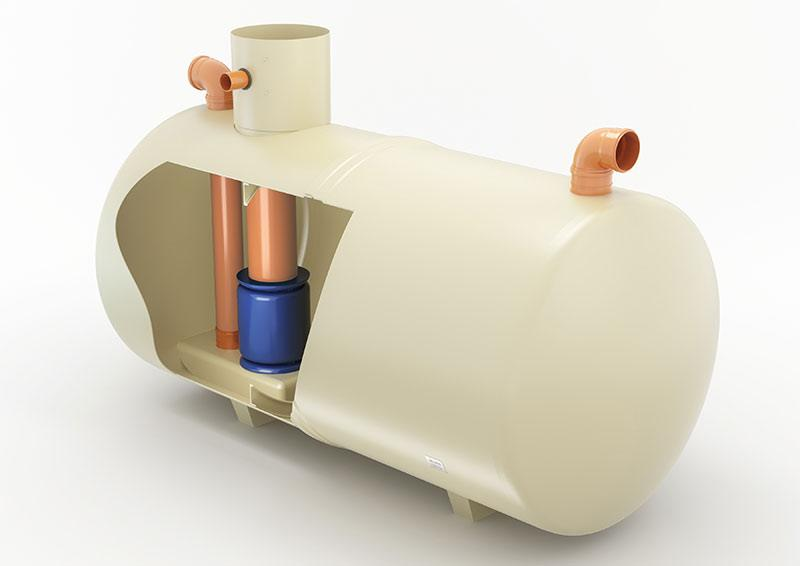 forecourt separator cutaway