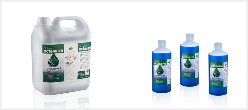 octasolve fuel additive products