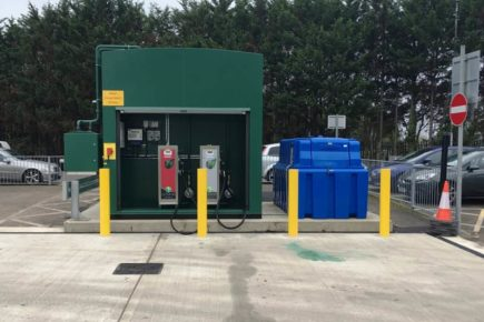 New Fuel Storage Tank, Adblue Tank, Dispensers, Separator, Groundwork